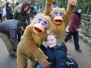 Monkey around at Tokyo Disney Sea