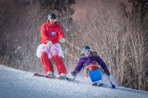 Charlie & Kate PHOTO: David Churchill, Myoko Snowsports