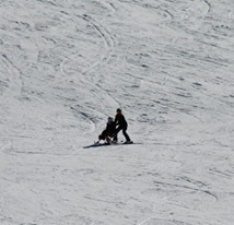 Kate and Em at Perisher