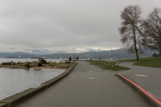 Seawall path