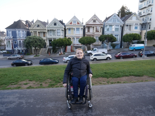 The Painted Ladies in beautiful San Francisco