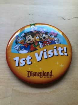 1st Visit button badge