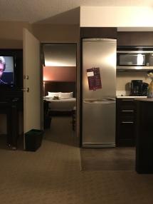 door joining two bedrooms