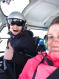 Selfie with Pilot Blake!
