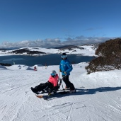Kate & Duane at Falls Creek