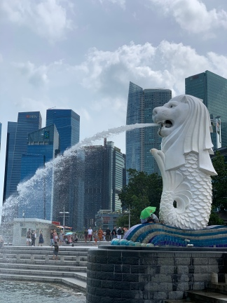 The Merlion in The Lion City